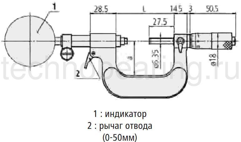 Индикаторный микрометр