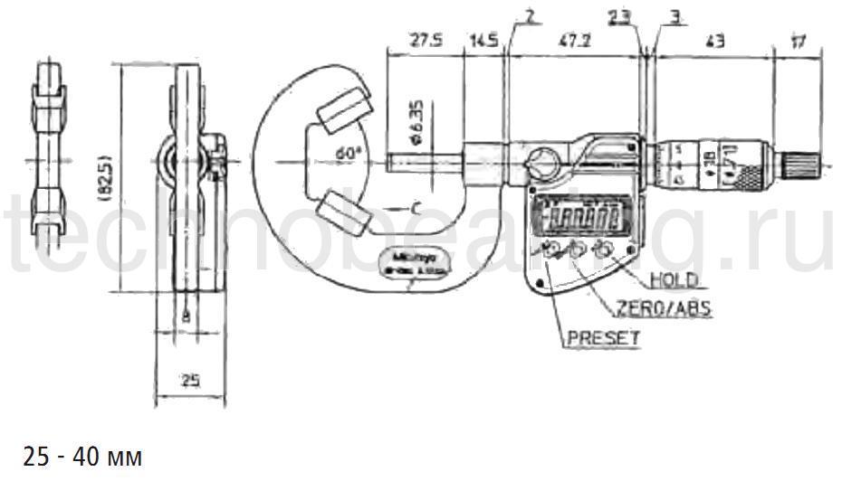 схема 2 микрометры